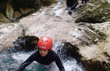 Canyoning Bovec Slovenija