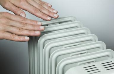Električni kopalniški radiator